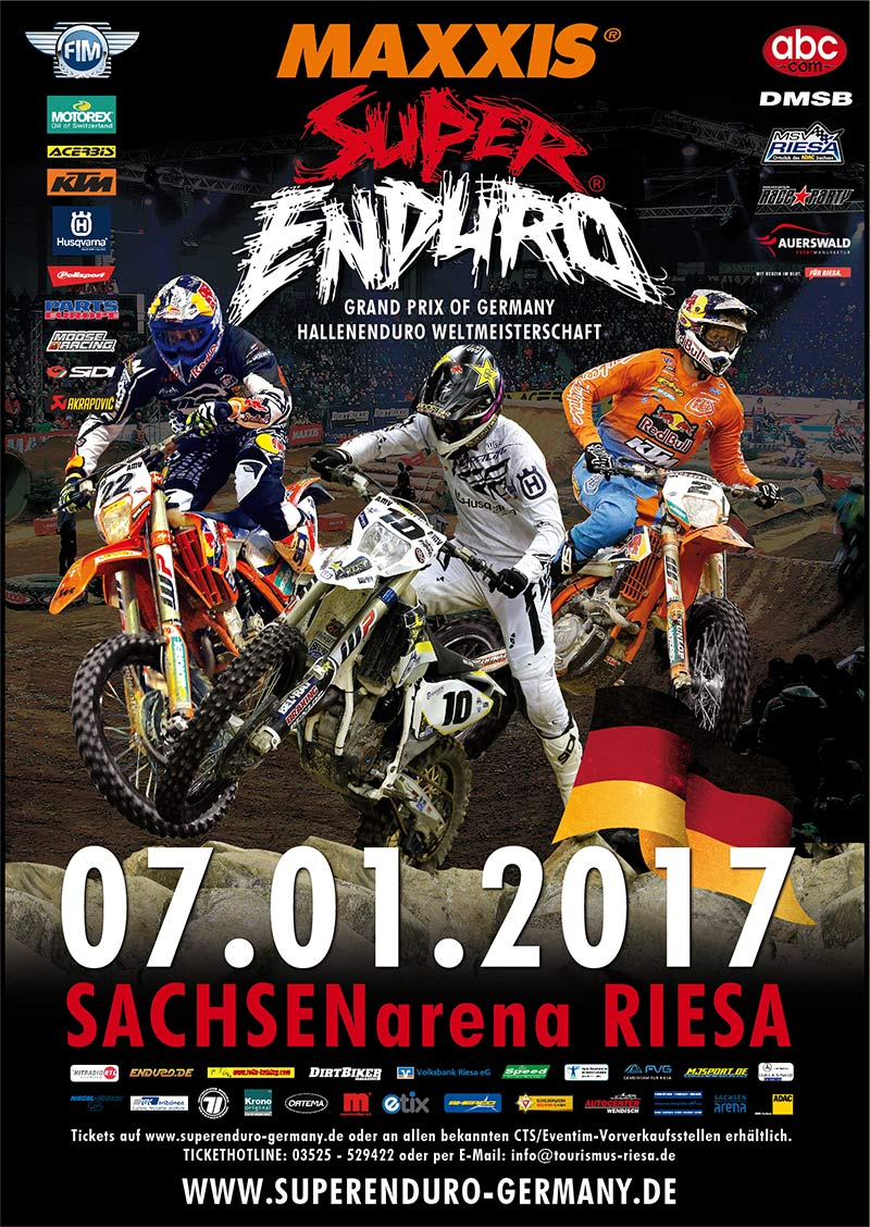 Superenduro Germany 2017 in Riesa